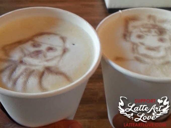Coffee Etches by Yeats Wong