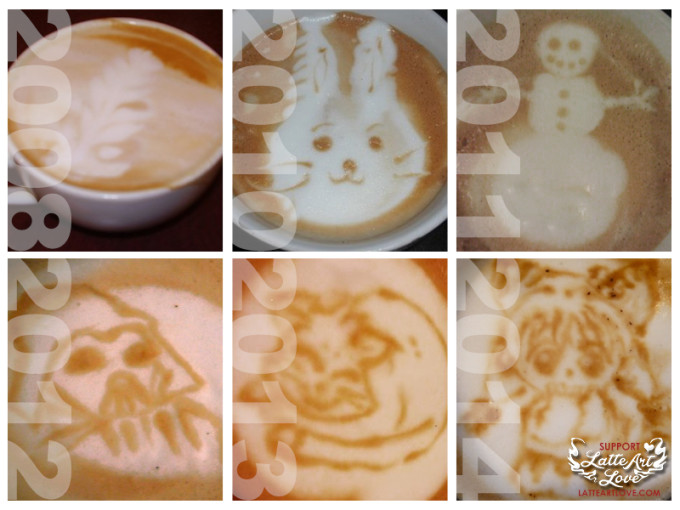 The Evolution of My Latte Art
