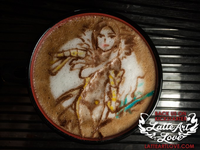 Latte Art - Jin Varrel