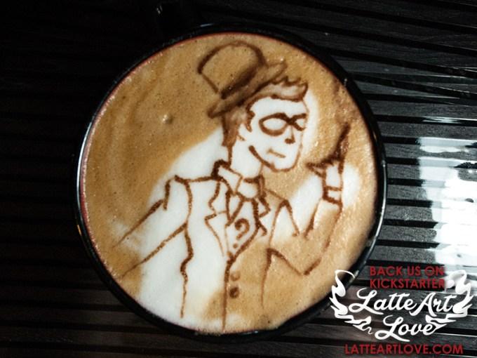 Latte Art - Riddler
