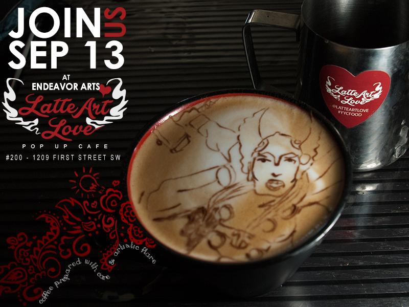 Latte Art - Thor