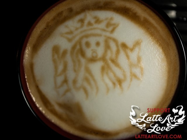Latte Art - The Siren