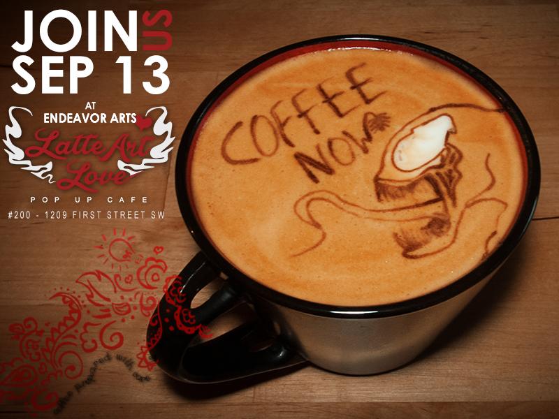 Latte Art Love- Venom