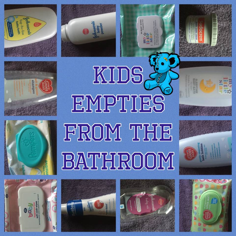Super baby edition    Kids Empties from the Bathroom    2017 - Latte ...