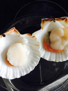 microwave cooking scallops