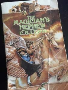 The Magician's Nephew Narnia KappaCino Book Club
