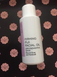MONU Skincare, Firming Fiji Facial Oil Glossybox unboxing UK