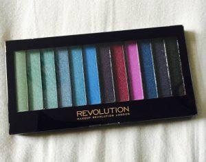 Glossy Box Makeup Revolution Mermaids vs Unicorns Eyeshadow Palette