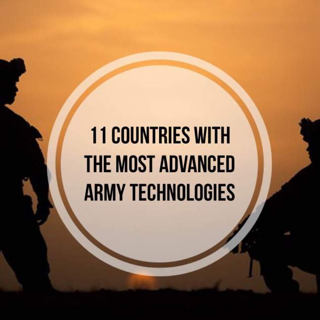 advanced army technologies
