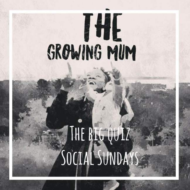 The Big Quiz || Social Sundays || The Growing Mum