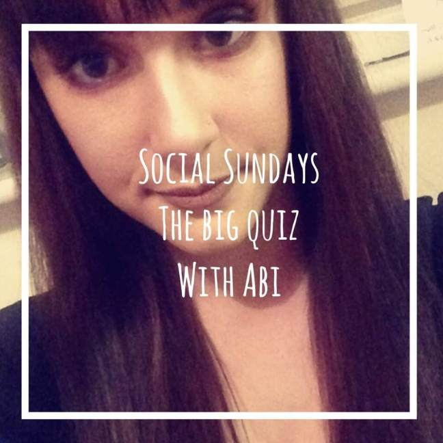 The big quiz with abi