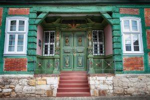 when one door opens    green door