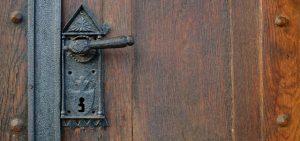 when one door opens    vintage handles