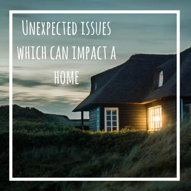 unexpected issues that can impact a home