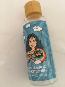 Wonder Woman 2in1 Shampoo & Conditioner || empties from the bathroom || October 2018