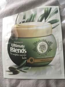 Garnier Ultimate Blends || Mythic Olive Balm || The Beauty Edit || October 2018