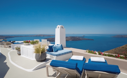 Two new super-suites at the Iconic Santorini