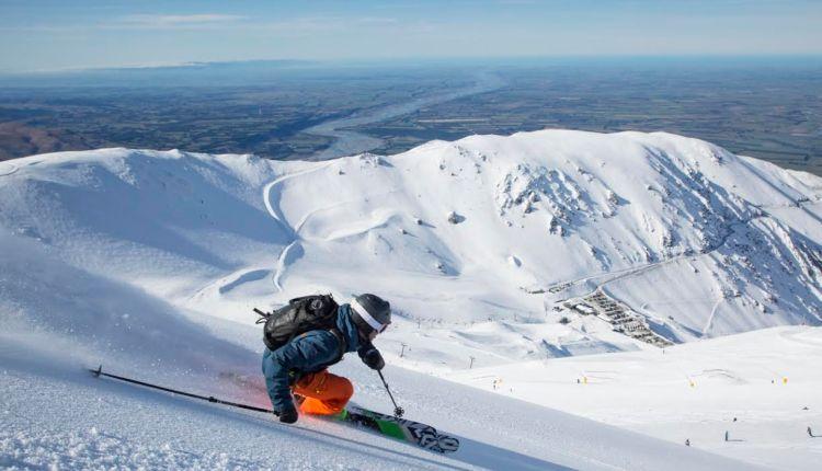 Mt Hutt is New Zealand's leading ski resort
