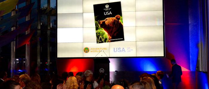 Adventure World and Brand USA launch USA brochure