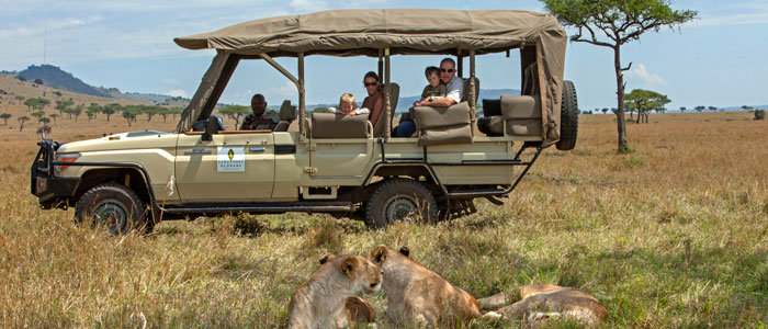 Families go wild in Africa with Sanctuary Retreats