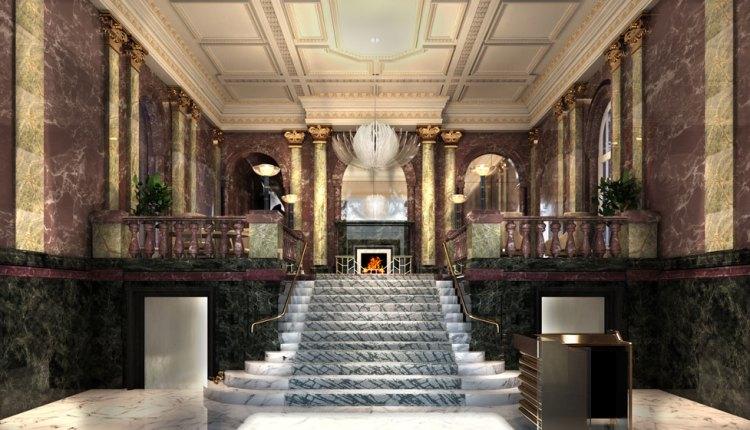 Mandarin Oriental Hyde Park, London Reveals New Reception And Lobby Areas
