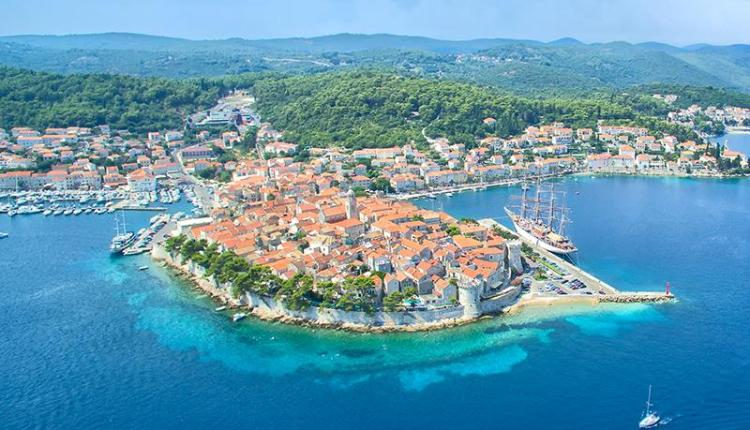 Explore Croatia's coastline on foot and by sea