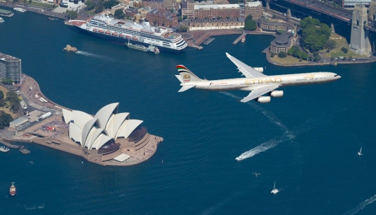 Etihad Airways A380 goes double daily to Sydney