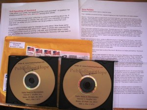 CDs of Denver Snuffer Boise Lecture