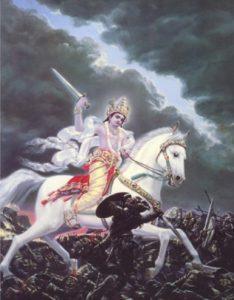 kalki-white-horse