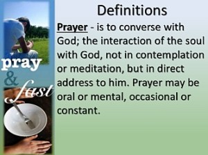 define-prayer