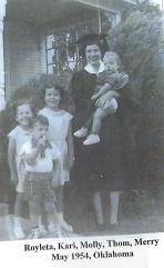 RoyletaCloptonMaloneGraduation1954