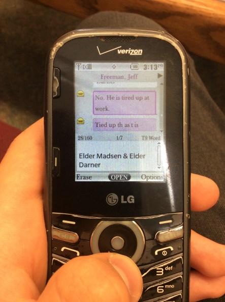Funny text convo