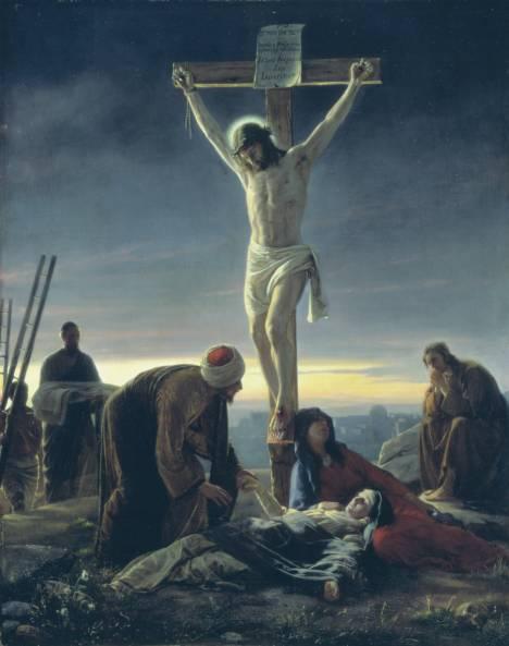 """The Crucifixion"" - Carl Heinrich Bloch, 1870"