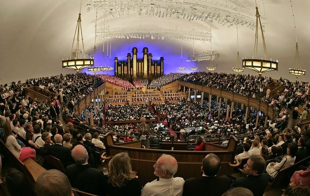 Mormon Tabernacle with Choir