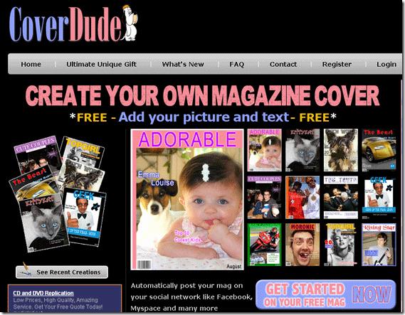 inmagazines fake magazine cover