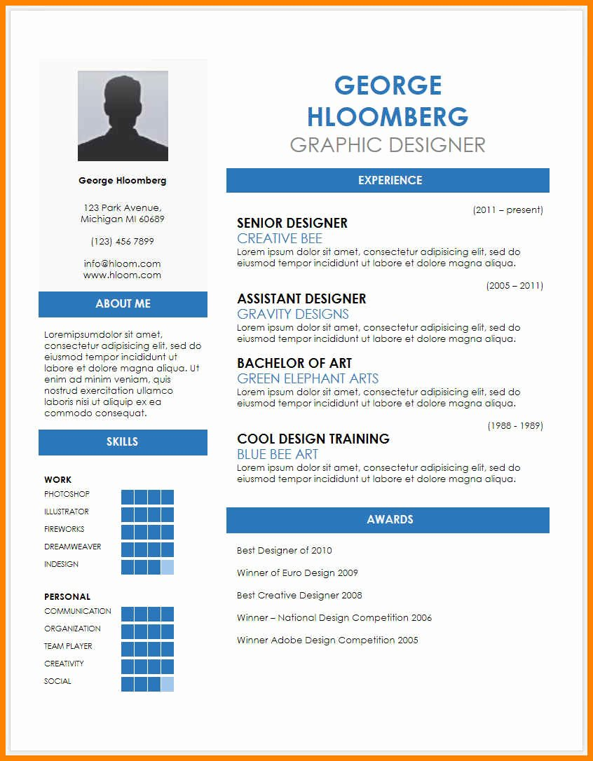 Resume Doc Format New Resume Trends Best Templates Free Download Format Word