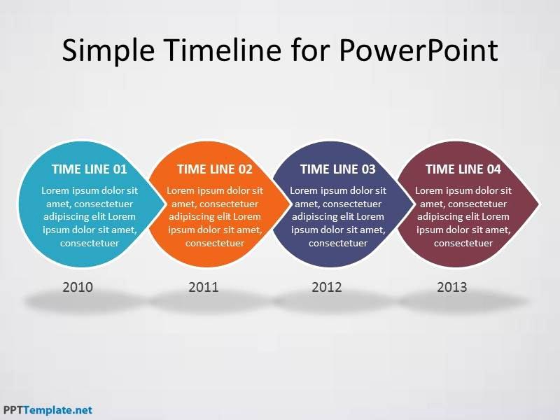 spheres timeline ppt diagrams