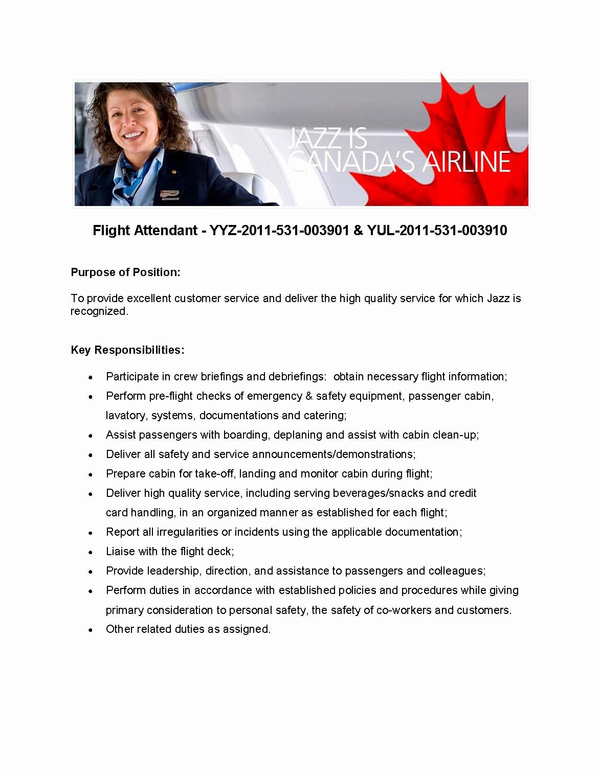 Air France Flight Attendant Cover Letter Resume For Flight Attendant Latter Example Template