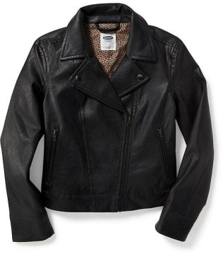 Old Navy Leather Jacket