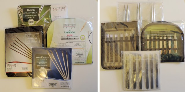 free knitters pride needle sets