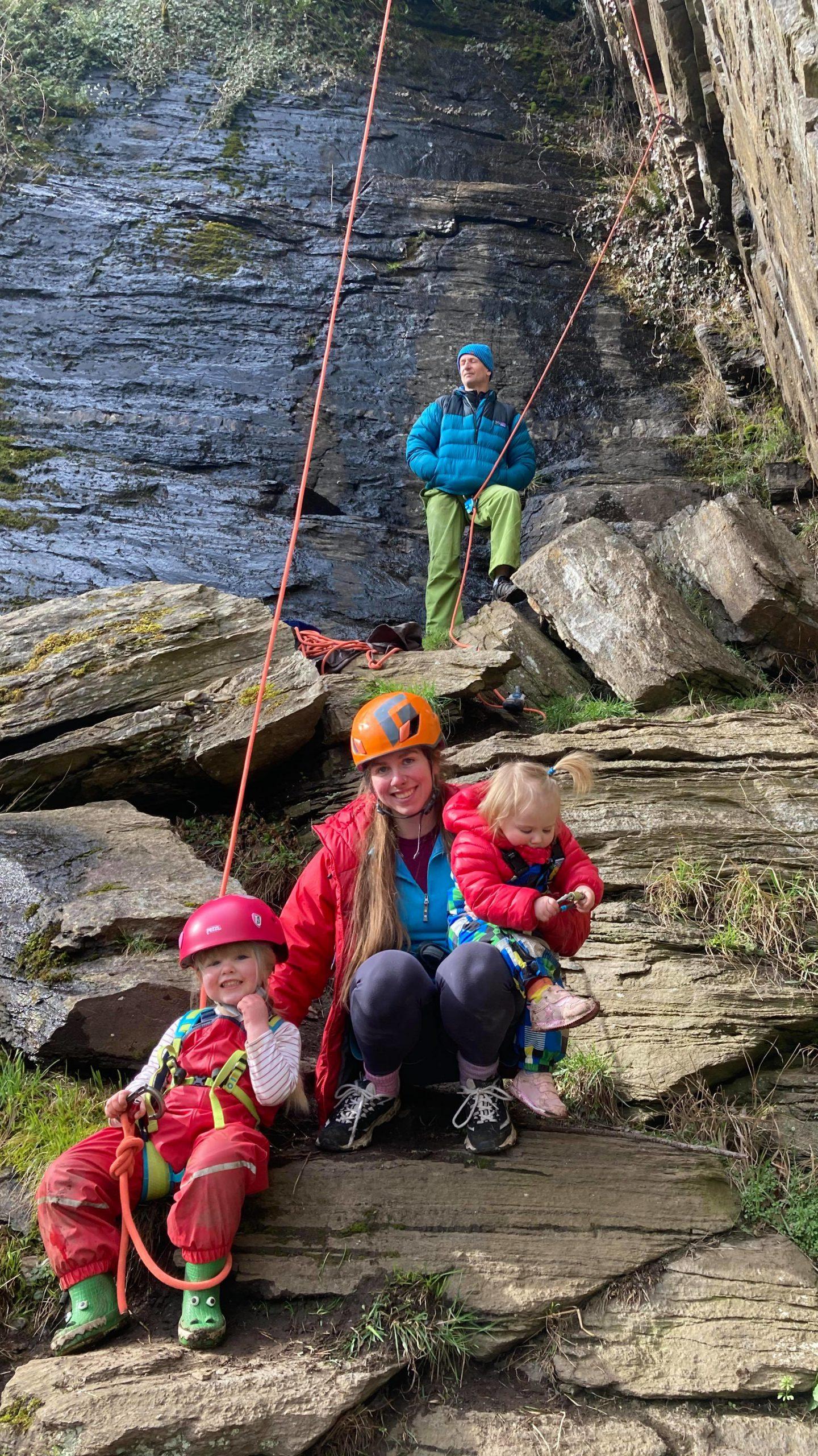 Rebekah Drummond, climber and mum