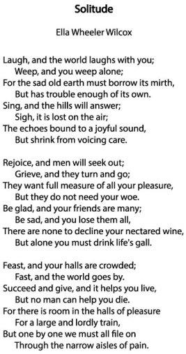 solitude-poem