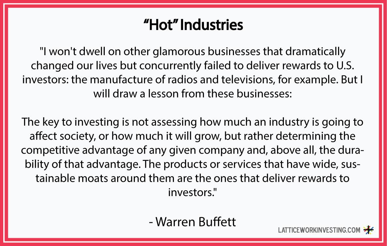 Warren Buffett – Latticework Investing