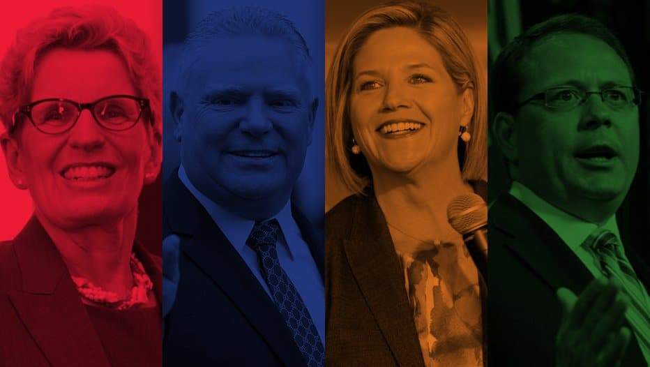 ontario election candidates 2018