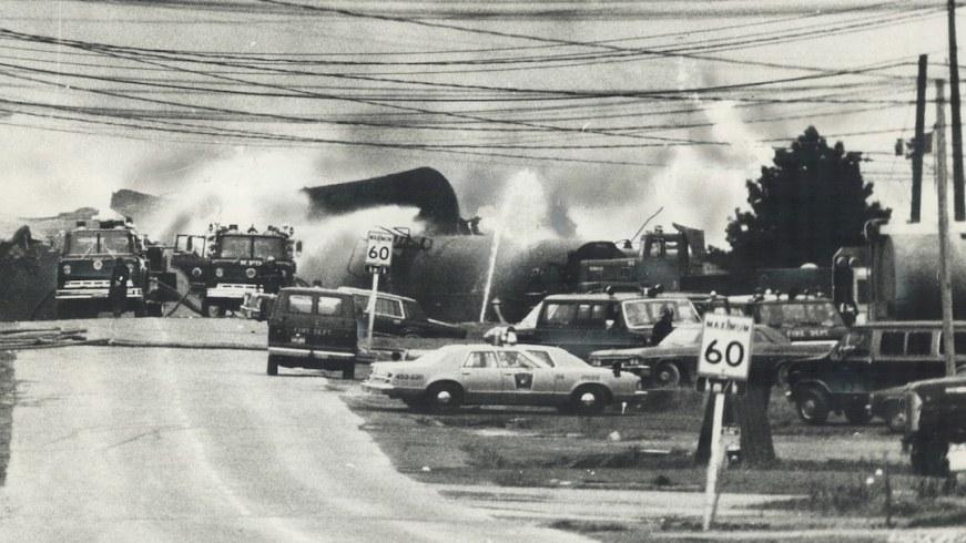 Descarrilamiento tren Mississauga