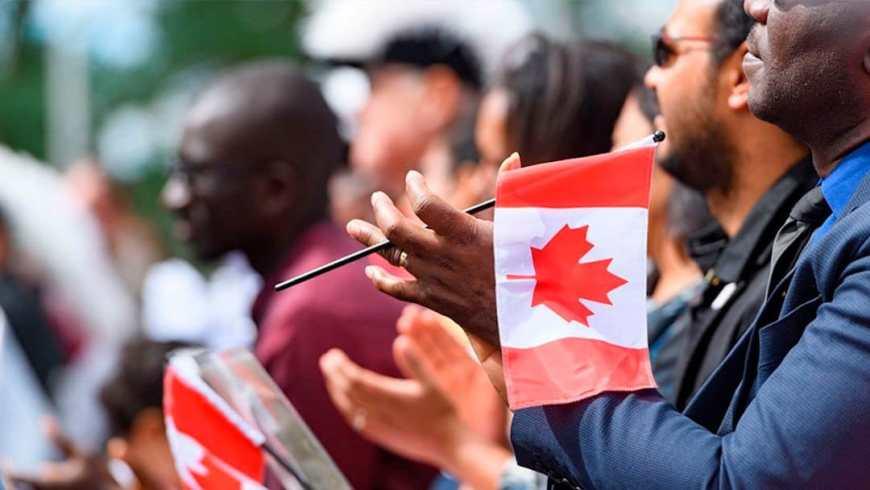 Inmigrantes Canada