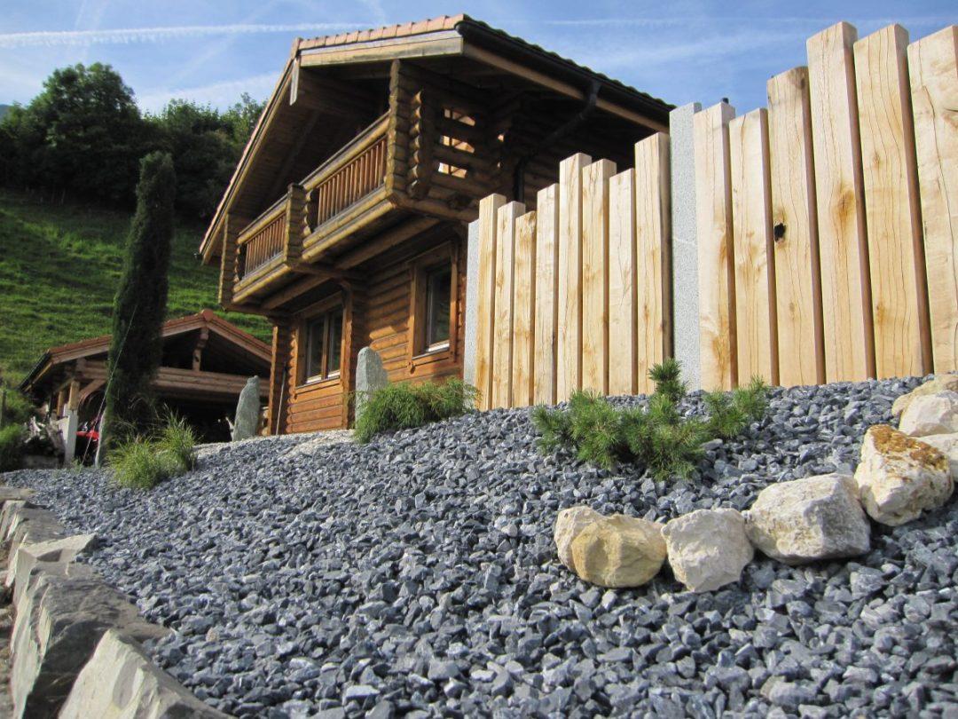 Palissades bois paysagiste Valais et Vaud
