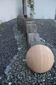 Paysagiste aménagement d'une entrée originale