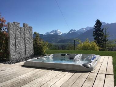 Spa aménagé dans le Valais