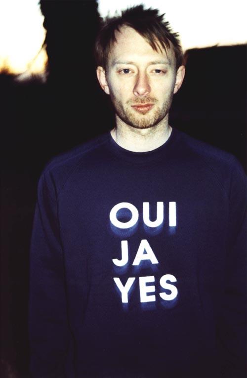 Thom1m Celebrity T Shirts: Thom Yorke (Radiohead)